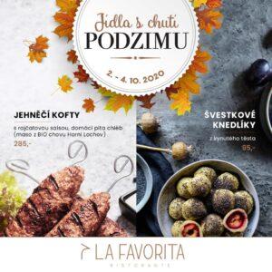 Jídla s chutí podzimu